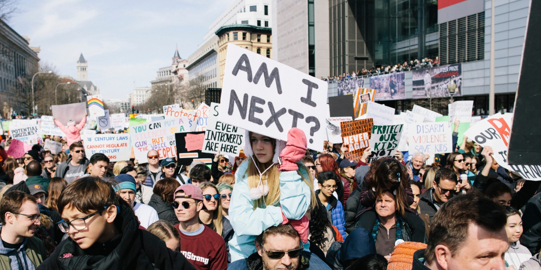 Am I Next sign March for our lives